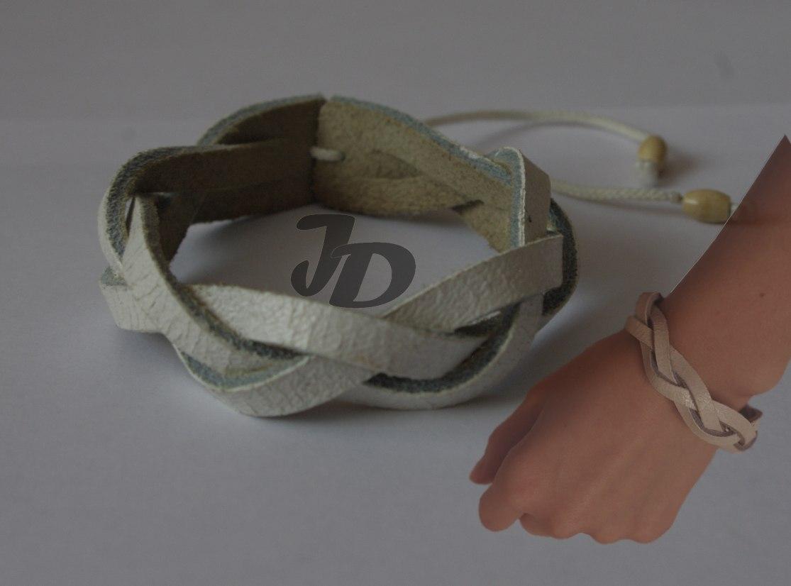 Кожаный браслет №78 - кожа