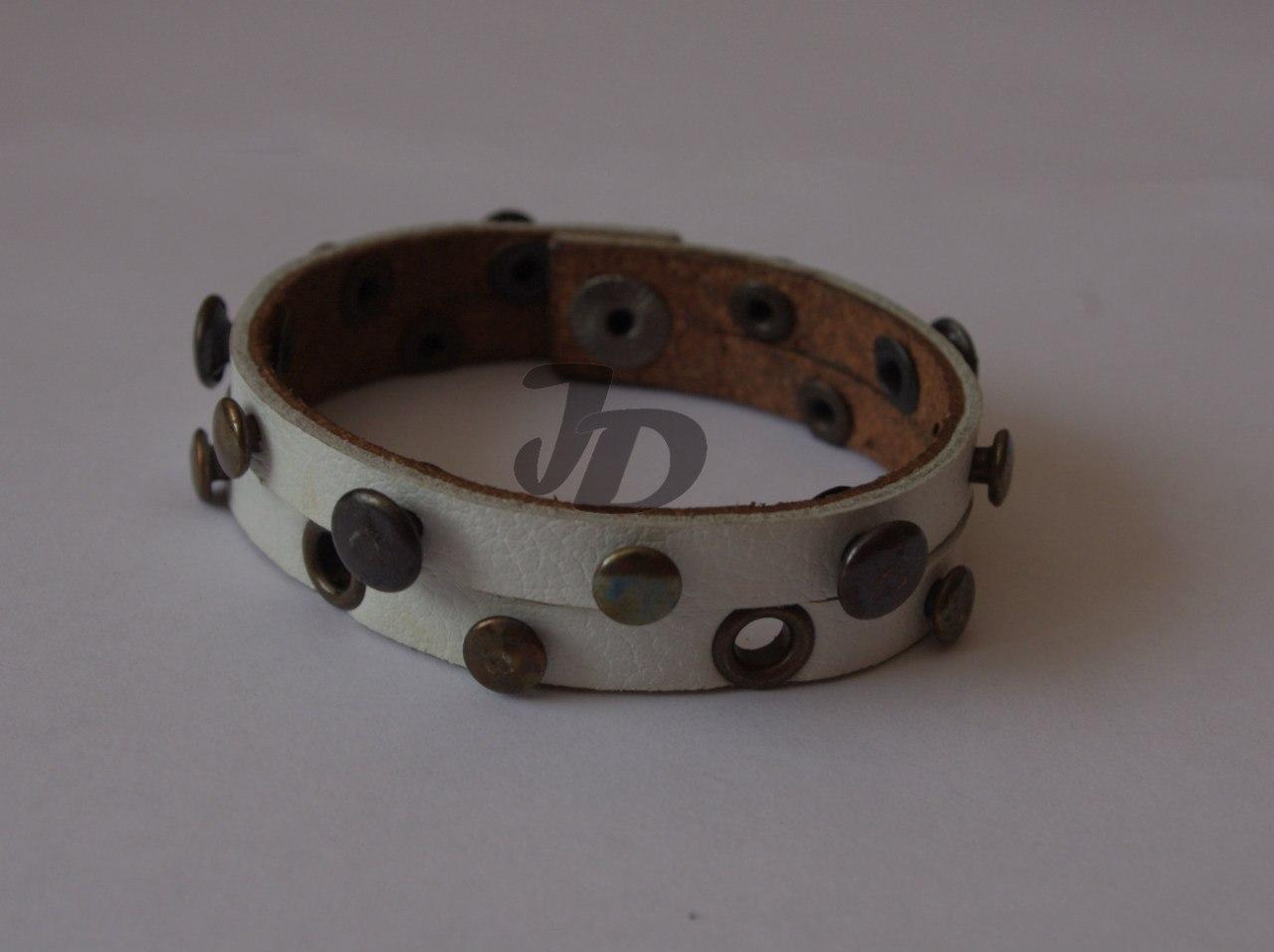 Кожаный браслет №75 - кожа