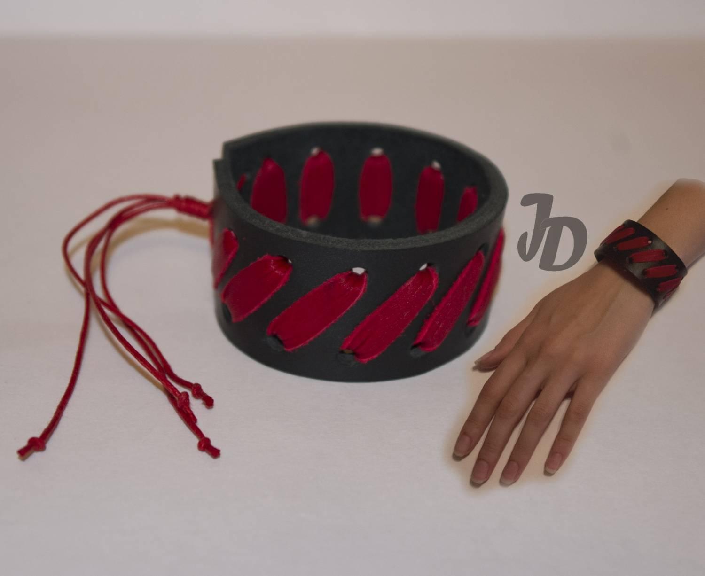 Кожаный браслет №67 - кожа