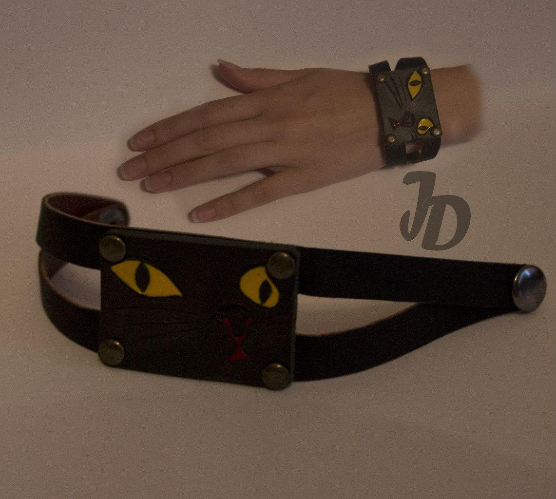 Кожаный браслет №70 - кожа