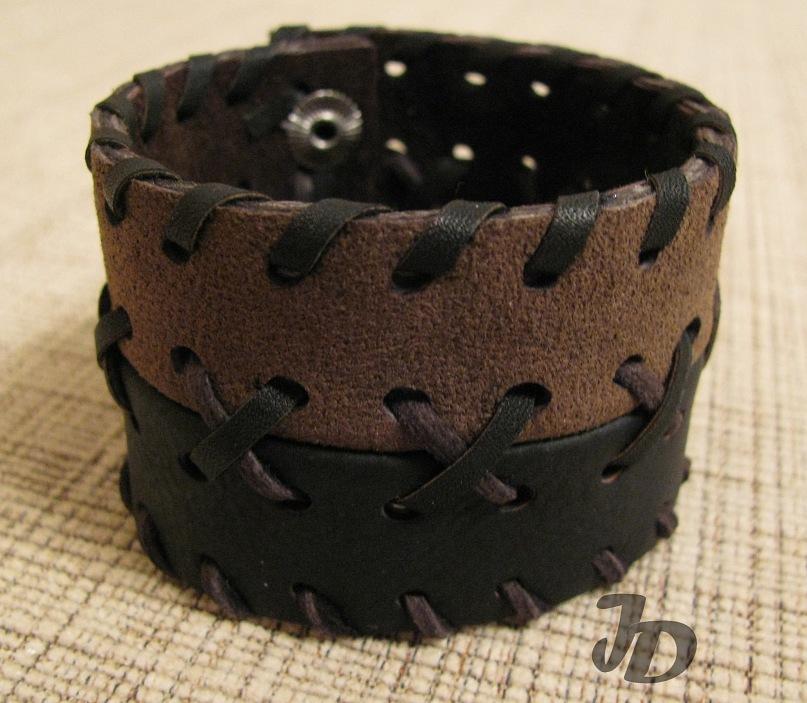 Кожаный браслет №46 - кожа
