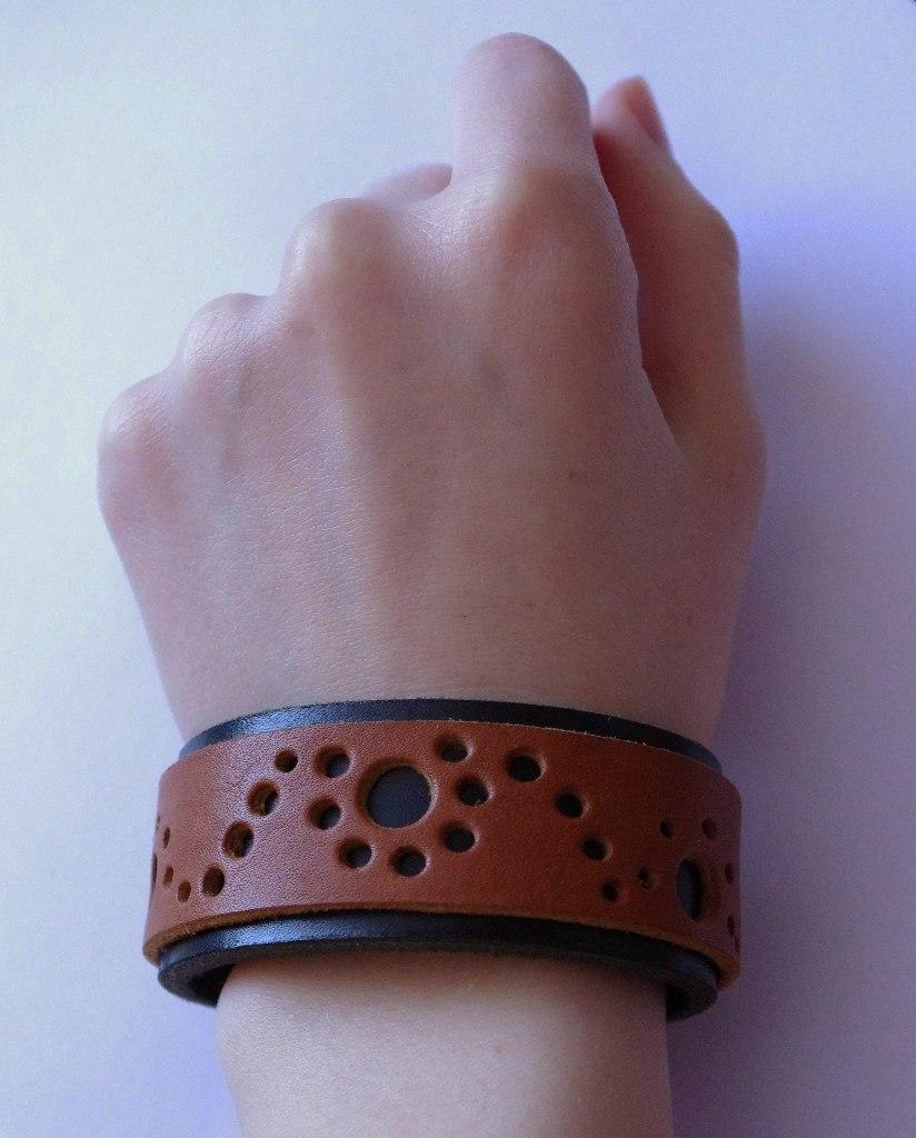 Кожаный браслет №99 - кожа