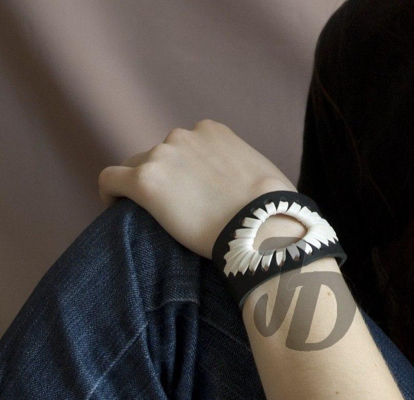Кожаный браслет №58 - кожа